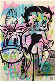 Sale 8552 - Lot 2047 - INDO (1982 - ) - Betty Boop 25 x 23cm
