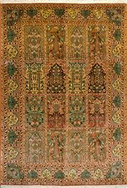 Sale 8307A - Lot 8 - Kashmiri Silk 272cm x 186cm RRP $6000