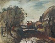 Sale 8440A - Lot 25 - Lloyd Rees - Lane at Carlingford 34.5 x 45cm