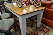 Sale 8507 - Lot 1079 - Rustic Farmhouse Table