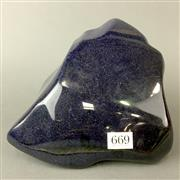 Sale 8638 - Lot 669 - Blue Goldstone in free form