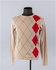 Sale 8770F - Lot 47 - A Burberry mens cotton sweater, size small