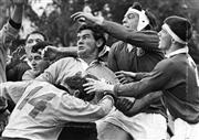 Sale 8754A - Lot 30 - NSW Country RU vs British Lions, Manuak Oval, Canberra, ACT, 1966 - 22 x 30cm