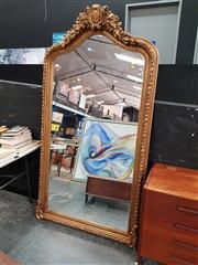 Sale 8822 - Lot 1130 - Large Ornate Gilt Framed Mirror - 214