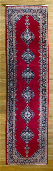 Sale 8680C - Lot 68 - Persian Kashan Runner 380cm x 104cm