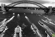Sale 8721A - Lot 95 - Artist Unknown - Australia Day on Sydney Harbour, NSW 1993 20 x 29cm