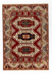 Sale 8770C - Lot 97 - An Afghan Kazak Geometric Design 100% Wool And Natural Dyes, 246 x 172cm