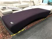 Sale 8851 - Lot 1024 - Purple Upholstered Ottoman