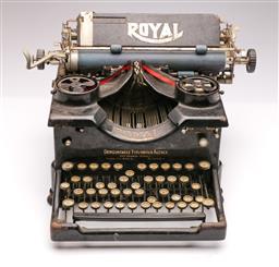Sale 9104 - Lot 9 - Vintage Royal typewriter