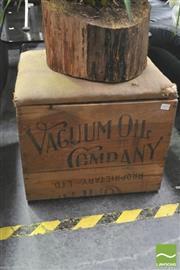 Sale 8392 - Lot 1095 - Rustic Lift Top Box