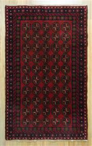Sale 8643C - Lot 26 - Persian Baluchi 137cm x 85cm