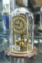 Sale 8340 - Lot 24 - Zodiac Dome Clock