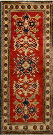 Sale 8412C - Lot 46 - Afghan Kazak 166cm x 68cm