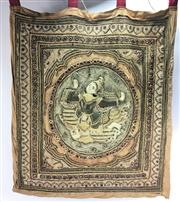 Sale 8667 - Lot 43 - Antique Tapestry Wall Hanging (760 x 670cm)
