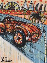 Sale 8880A - Lot 5008 - Yosi Messiah (1964 - ) - Summer Breeze 100 x 75 cm