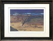 Sale 8936 - Lot 2054 - John Earle - Beach Scene, decorative print, ed 267/499, 84 x 108 cm (framesize)