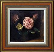 Sale 8363 - Lot 550 - Ethel Carrick Fox (1872 - 1952) - Roses 25 x 26cm