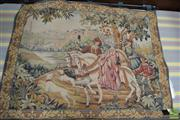 Sale 8460 - Lot 1025 - Franklin Mint Royal Hunt Tapestry, designed by Marc Waymer (with fittings & certificate)