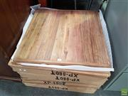 Sale 8601 - Lot 1404 - Set of Eight Timber Table Tops - XP 60T