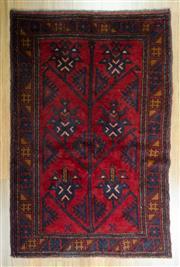 Sale 8643C - Lot 27 - Persian Baluchi 148cm x 85cm