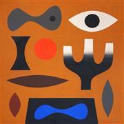Sale 8675 - Lot 547 - John Coburn (1925 - 2006) - Enigma, 1975 91.5 x 91.5cm