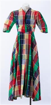 Sale 8910F - Lot 73 - A Sass & Bide Harlequin dress jacket in vintage checkerboard, size EUR 40