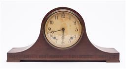 Sale 9170H - Lot 88 - An American Seth Thomas mantle clock, Width 42.5cm
