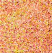 Sale 8411A - Lot 5045 - Polly Ngale (c1936 - ) - Bush Plum 74 x 71cm