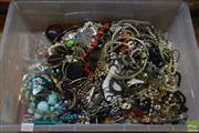 Sale 8518 - Lot 2313 - Tub of Costume Jewellery