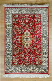 Sale 8643C - Lot 28 - Kashmiri Silk 92cm x 62cm