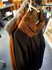 Sale 8663 - Lot 2159 - 3 Ladies Coats