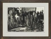 Sale 8762 - Lot 2042 - Val Landa (1940 - ) - The Clearing - St. Thomas Rest Place 37 x 55cm