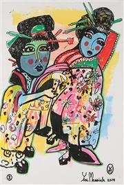Sale 8838A - Lot 5055 - Yosi Messiah (1964 - ) - Untitled, 3 71.5 x 49cm