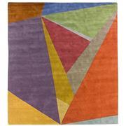 Sale 8880C - Lot 3 - Nepal Geo Angles Carpet in Multi, 360x330cm, Tibetan Highland Wool