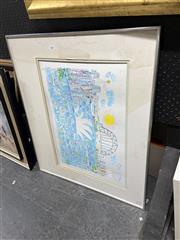Sale 8878 - Lot 2083 - Ken Done - Sydney Harbour colour lithograph ed. 1/8 signed lower right