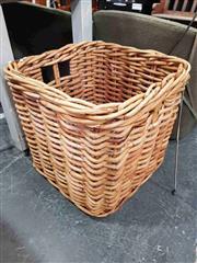 Sale 8912 - Lot 1017 - Large Cane Basket (H: 62 W: 63cm2)