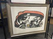 Sale 8936 - Lot 2055 - Fred Cress - Illusions, 1988, colour lithograph ed. 83/97, 83 x 104 cm (framesize),