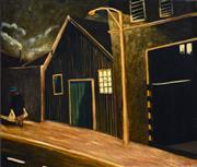 Sale 8415 - Lot 584 - Philip Davey (1949 - ) - Going Home, 1993 107 x 122cm
