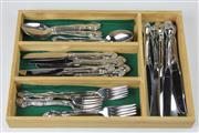 Sale 8429 - Lot 91 - Community Plate Cutlery Setting for 8 Persons