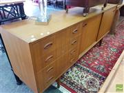 Sale 8469 - Lot 1044 - Retro Sideboard with Pillow Front