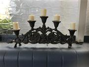 Sale 8575H - Lot 98 - A five branch candelabrum