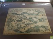 Sale 8619 - Lot 2064 - Artist Unknown - Kyoto Landscape 21 x 30.5cm