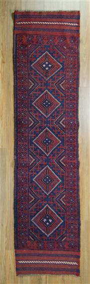 Sale 8643C - Lot 29 - Persian Baluchi Runner 290cm x 59cm