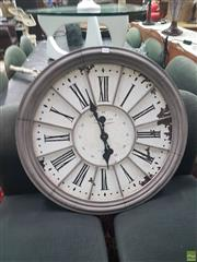 Sale 8648C - Lot 1030 - Classical Style Metal Wall Clock