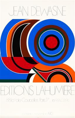 Sale 9212A - Lot 5020 - JEAN DEWASNE (1921 - 1999) - Exhibition Poster: Editions Lahumiere 101.5 x 64 cm, sheet