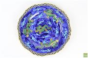 Sale 8555 - Lot 35 - Coronaware Dragon Plate
