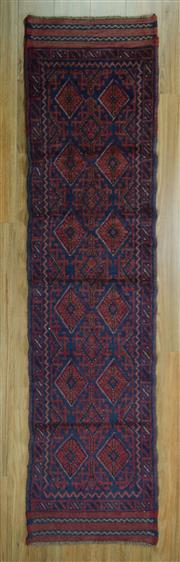 Sale 8643C - Lot 30 - Persian Baluchi Runner 240cm x 59cm
