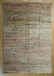 Sale 8717C - Lot 71 - Afghan Chobi Stripi 296cm x 199cm