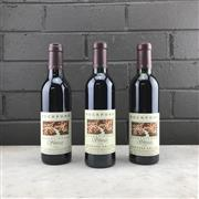 Sale 9905Z - Lot 385 - 3x Rockford Basket Press Shiraz, Barossa Valley - 2003, 2004 & 2005 vintages, all 375ml half-bottles