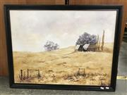 Sale 9024 - Lot 2063 - A C Shapter A Cottage in Red Hill acrylic 68 x 88cm signed